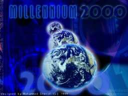 Millennium 2000 - click on the thumbnail to view the enlarged version