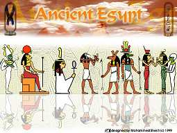 Ancient Egypt - click on the thumbnail to view the enlarged version