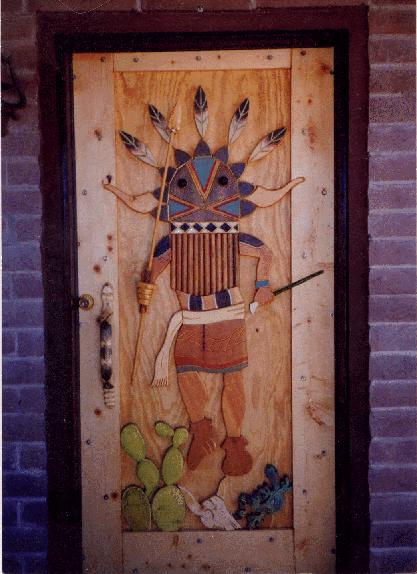 Custom Wooden Doors - click on the thumbnail to view the enlarged version